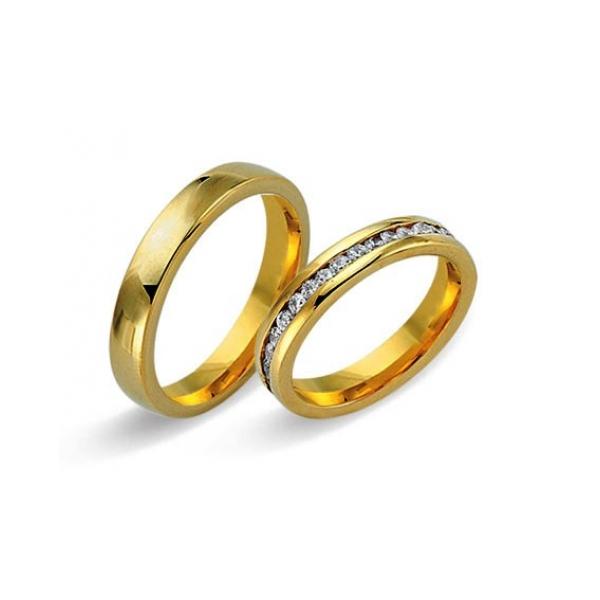 Juwelier Haan Fides Kollektion Gold Trauringe - 8450