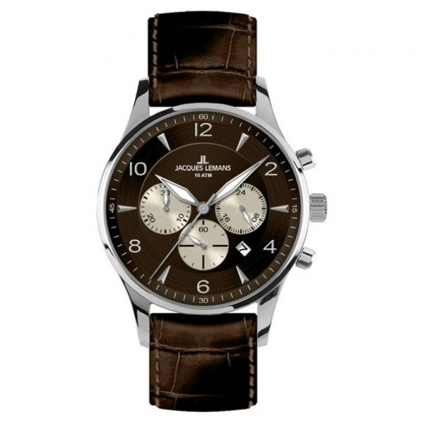 Juwelier Haan Jacquas Lemans Uhren 1-1654D