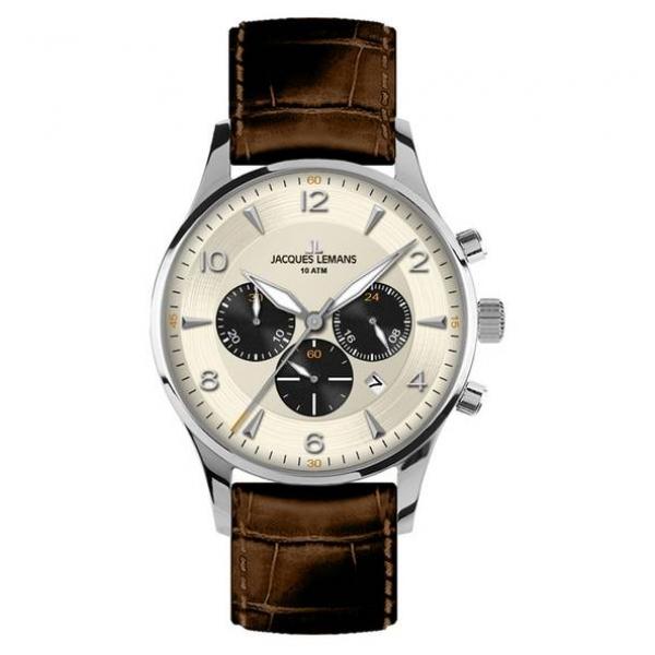 Juwelier Haan Jacquas Lemans Uhren 1-1654E