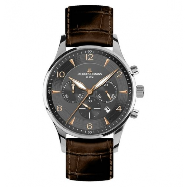 Juwelier Haan Jacquas Lemans Uhren 1-1654F