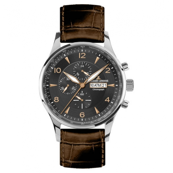 Juwelier Haan Jacquas Lemans Uhren 1-1844D