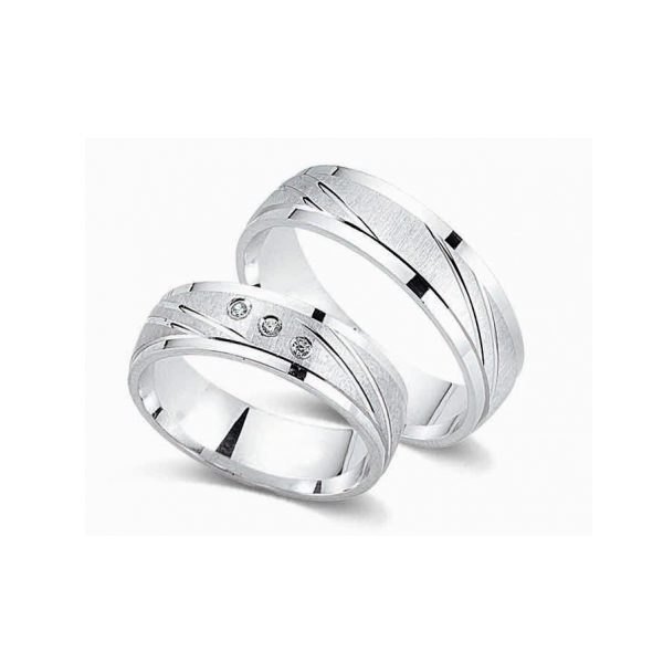 Juwelier Haan Cera Kollektion Silber Trauringe - CRG03