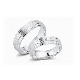 Juwelier Haan Cera Kollektion Silber Trauringe - CRG05