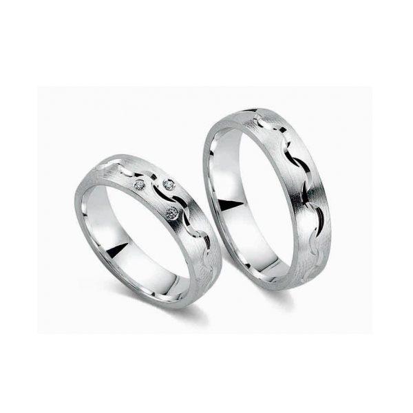 Juwelier Haan Cera Kollektion Silber Trauringe - CRG08