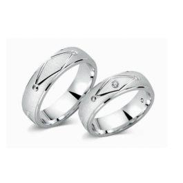 Juwelier Haan Cera Kollektion Silber Trauringe - CRG11
