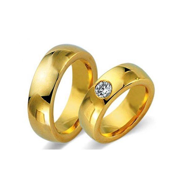Juwelier Haan Fides Kollektion Gold Trauringe - 8464