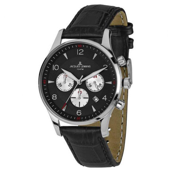 Juwelier Haan Jacquas Lemans Uhren 1-1654A